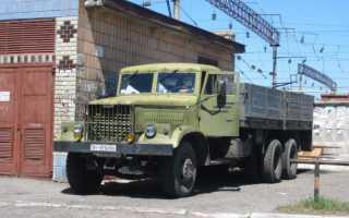 КрАЗ-257Б1: технические характеристики, цены, бортовой