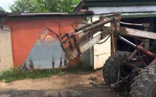 Фронтальный погрузчик своими руками: самодельный, на трактор, чертежи, мини