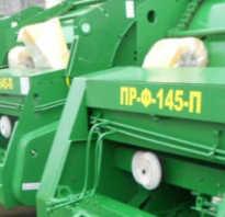 Пресс-подборщик рулонный пр-145с: технические характеристики