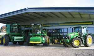 История и модельный ряд тракторов John Deere