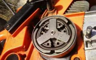 Как снять сцепление на бензопиле: открутить, разобрать, муфту, собрать, ремонт