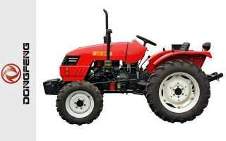 Минитрактор Донг Фенг (DongFeng): трактор, 244, отзывы от владельцев, 404, 304