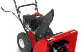 Гусеничные, колесные и несамоходные снегоуборщики MTD: технические характеристики, устройство, фото