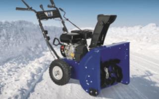 Cнегоуборочные машины для дачи бензиновые, электрические: отзывы, стоимость