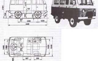 УАЗ-2206: 22069-04, 220694, технические характеристики двигателя, кузов, цена, размеры