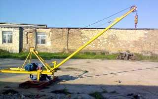 Кран Пионер: 500 с поворотной стрелой, 750, 1000, 2000, своими руками, чертеж, технические характеристики