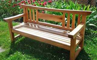 Лавочка своими руками: как сделать скамейку из дерева, столик из досок для сада