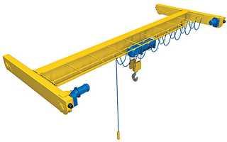 Мостовой однобалочный кран: подвесной электрический, опорный, ручной, 5т, 10, 2, 1, 3, цена, отзывы