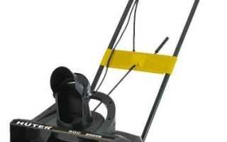 Снегоуборщик Huter (Хутер) SGC-2000E (электрический): технические характеристики, отзывы, видео, цена