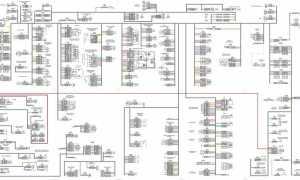 КамАЗ 431185 евро 5: Схема электрическая принципиальная