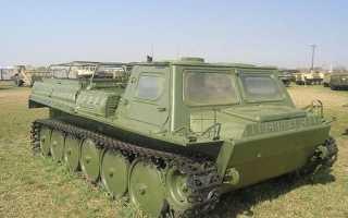 Гусеничный вездеход ГАЗ-71 (ГТ-СМ, газушка) ✅: технические характеристики, запчасти