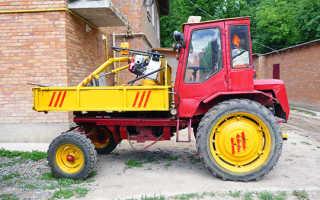 Трактор Т-16: самоходное шасси, новый цена, попрошайка, технические характеристики