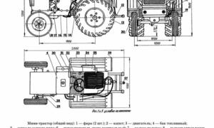 Минитрактор из УАЗа — изготовление, сборка, видео, чертежи