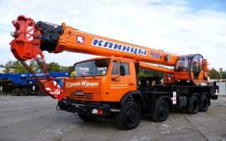 Кран Клинцы (автокран КамАЗ): 25, 40 тонн, 31 метр, кабина крановщика, цена, отзывы