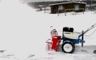 Подготовка к зиме мотоблока