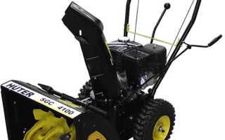 Снегоуборщик Huter (Хутер) SGC 4100: технические показатели и преимущества (отзывы, видео, цена)