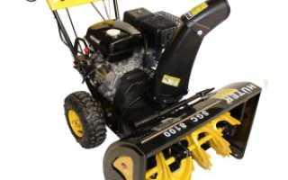 Снегоуборщик Huter SGC 8100 (бензиновый, колесный): технические характеристики, его особенности и отзывы
