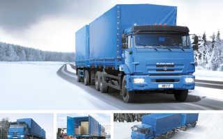 КамАЗ-65117 технические характеристики, двигатель, размеры, грузоподъемность