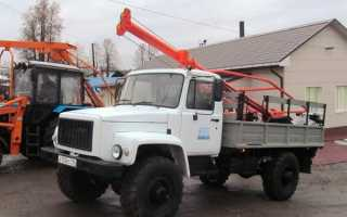 Бурильно-крановая машина (БКМ): 317, БМ-205В, 205Д, ГАЗ-33081, МТЗ-82, самоходная, технические характеристики, цена, отзывы владельцев