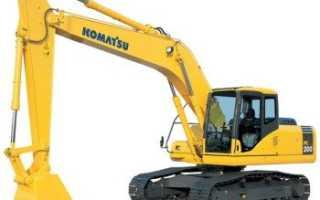 Экскаватор Комацу (Коматсу, Komatsu): погрузчик, гусеничный, PC200, технические характеристики, цена, аналоги, отзывы