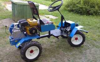 Минитрактор из мотоблока: своими руками, Нева, с двигателем, самодельный, комплект для переделки