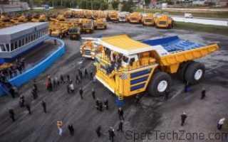 БелАЗ-75710: 450 тонн, технические характеристики, сколько стоит, расход топлива на 100 км, самосвал