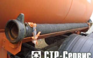 Ассенизаторская машина: длина шланга, технические характеристики, принцип работы