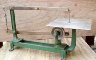 Стол для лобзика универсал. Лобзиковый станок своими руками – чертежи и видео подробности