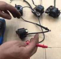 Как проверить катушку зажигания бензопилы мультиметром — Спецтехника