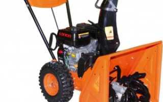 Снегоуборщик Prorab (Прораб) GST 56-S: технические характеристики, цена, фото, отзывы
