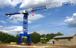 Как собирают башенный кран: монтаж, установка на стройке, подъемный строительный, промышленные, опорных