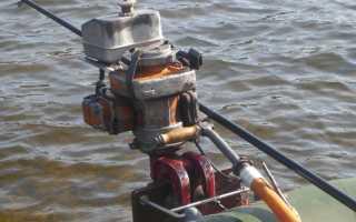 Лодочный мотор из бензопилы своими руками: самодельный, как сделать
