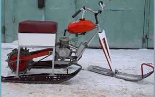 Снегоход из бензопилы Дружба: самодельный вертолет, мопед, снегоуборщик, пилорама, лодочный мотор, культиватор