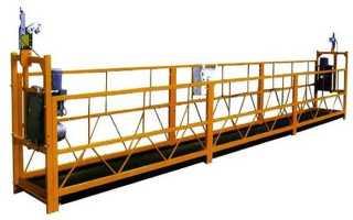 Фасадный подъемник ZLP-630 (Китай): строительные люльки, характеристики