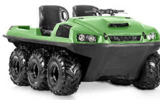 Вездеход Tinger Armor (Тингер Армор): универсальный, W6, технические характеристики