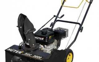 Снегоуборщик бензиновый Huter (Хутер) SGC 3000: генератор (видео, характеристика, отзыв, youtube, фото, цена)