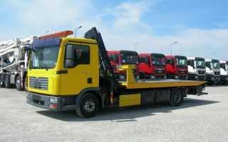 Эвакуатор МАН (MAN): 10, манипулятор, грузовой, 7 тонн, цена, особенности конструкции
