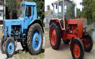 Какой трактор лучше МТЗ или ЮМЗ: чем отличается, сравнение параметров, обзор