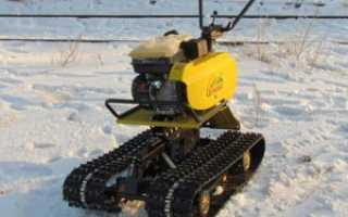 Cнегоходная приставка к мотоблоку, её модификации, цена и снегоход своими руками