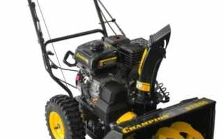 Самоходный снегоуборщик Champion ST556: устройство, технические характеристики, фото и видео