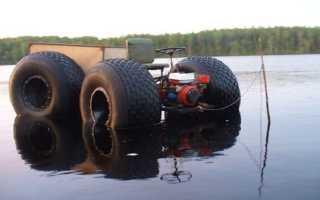 Вездеход из мотоблока: самодельный болотоход, вездеходная приставка своими руками, как сделать