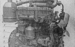 Устройство и работа двигателя Д-240