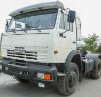 КамАЗ 54115: технические характеристики, цена, фото, видео