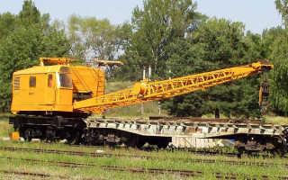 Железнодорожный кран КЖДЭ: 16, 25, технические характеристики, цены