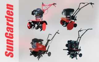 Культиватор Sungarden: Т 250, 35, 340, 240, инструкция, OHV 6 0, мотокультиватор, технические характеристики