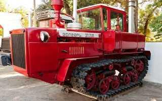 Трактор ДТ-175 Волгарь: гусеничный, технические характеристики, ДТ-175с, отзывы, устройство