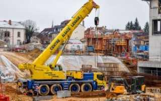 Кран Либхер (Liebherr): автокран, башенный, 100 тонн, технические характеристики, цена покупки, аренды