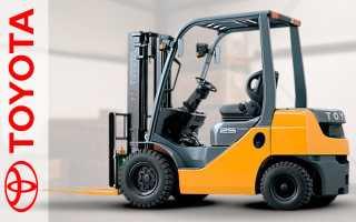 Вилочный погрузчик Тойота (Toyota): дизельные, электрические, 7FB25FSV-4300, 7FBH14FV-3000, 02-7FDJF35-13110, 7FG15, 62-8FD25, цена, техническое обслуживание, ремонт