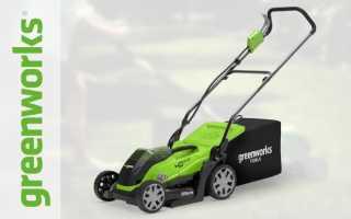 Газонокосилка Greenworks (Гринворкс): GLM1232, GLM1240, GD40LM45, отзывы, аккумуляторная, электрические, цены