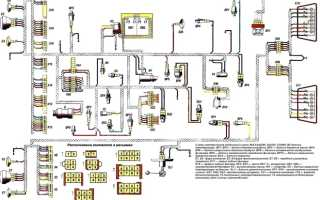 Электросхемы МАЗ: схема электропроводки, электрооборудования, электрическая, автомобиля, проводки, Евро-3